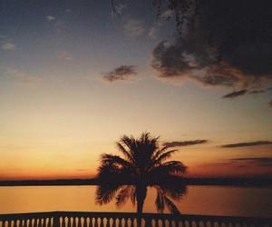 balcony, dusk, and night sky image