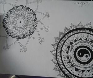Desenhos, drawn, and mandala image