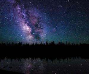 blues, dark, and stars image