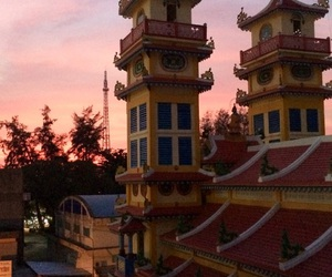 Temple, travelling, and Vietnam image