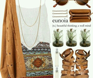boho, clothes, and outfit image