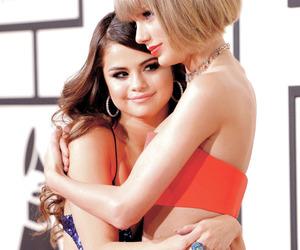 Taylor Swift and selena gomez image