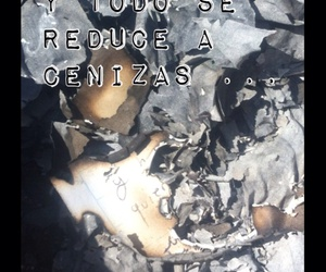burn, cartas, and letters image