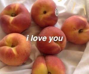 peach and love image