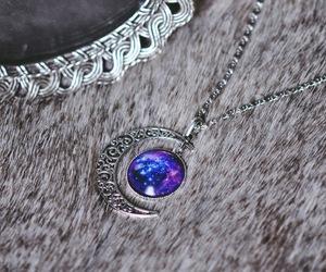 beautiful, jewelry, and moon image