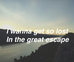 escape, lost, and Lyrics image