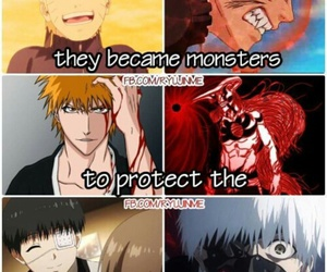 naruto, bleach, and Ichigo image