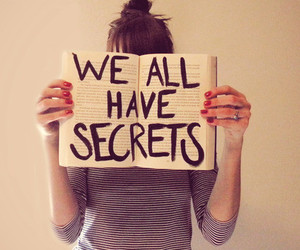 secret, book, and quote image