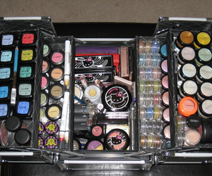 make up, mac, and hello kitty image