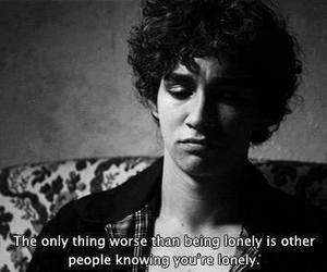 misfits, lonely, and quotes image