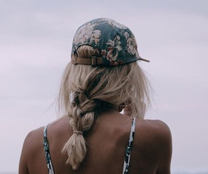 blonde, style, and clothing image