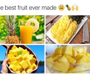 fruit, pineapple, and yummy image