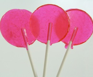 lollipop, pink, and sweet image