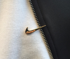 nike, gold, and black image