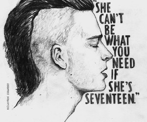 girl, the 1975, and music image