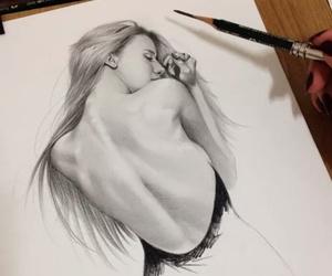 portrait and paint image