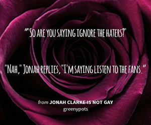 fans, haters, and gay image