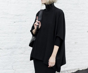 black, fashion, and minimalist image