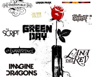 bands, evanescence, and green day image