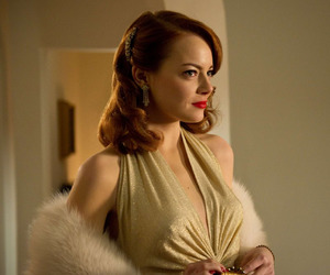 emma stone and gangster squad image