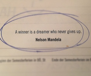 dreamer, nelson mandela, and quote image