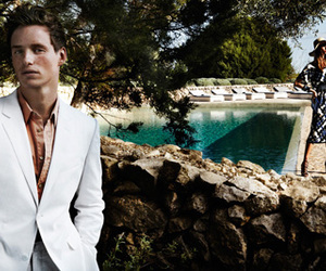 eddie redmayne, fashion photography, and Karlie Kloss image