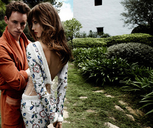 eddie redmayne and Karlie Kloss image