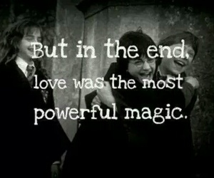 harry potter, love, and magic image