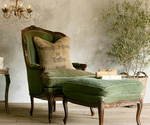 armchair, classic, and decor image