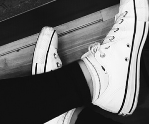all star, converse, and clean image