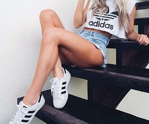 adidas, fashion, and tumblr image