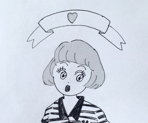 girl, fredperry, and イラスト image