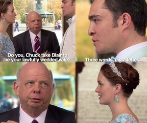couples, gossip girl, and married image