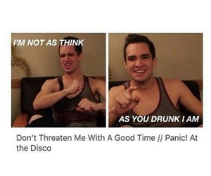 bands, brendon, and brendon urie image