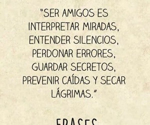 amigos, frases, and palabras image