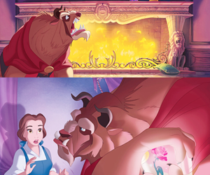 disney, princess belle, and a bela e a fera image