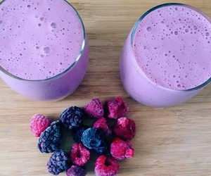 purple, food, and smoothie image