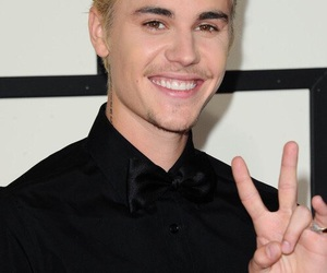justin bieber, grammys, and smile image