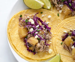 Chicken, pineapple, and taco image