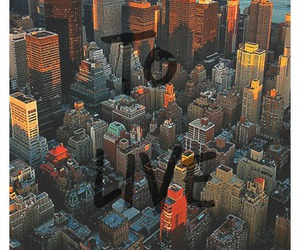 city, phrases, and wallpaper image