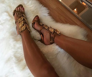 fashion, beautiful, and heels image