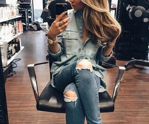 girl, beautiful, and fashion image