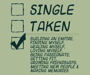 single and healing image