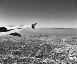 airplane, city, and nature image