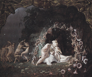 fairy, painting, and shakespeare image