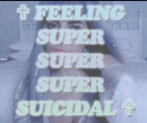 marina and the diamonds, suicidal, and grunge image