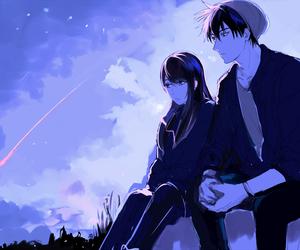 couple and sweet image