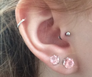 piercing and tragus image