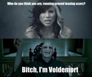 voldemort, harry potter, and funny image