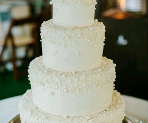 wedding, cake, and food image